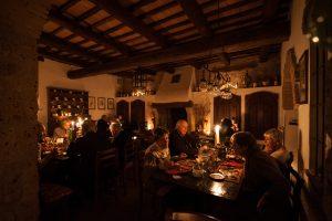 Enoteca del Castello di Proceno Cena al lume di candela